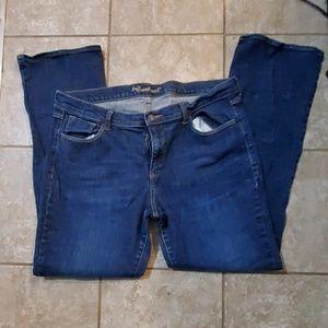 Woman size 16 long jeans